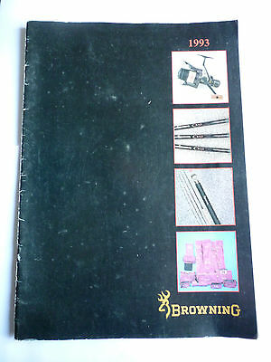 Browning 1993 Fishing Tackle/Equipment Guide/Catalogue (Rods/Reels/Fly/Sea)