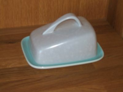 Poole Pottery Cheese/Butter Dish