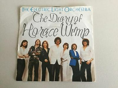"""The Diary of Horace Wimp ELO Down Home Town 7"""" Single Jet Records 1979 JET 150"""