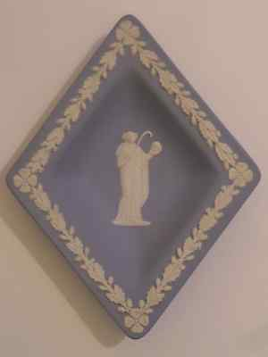 Wedgwood Jasperware Diamond Form Dish