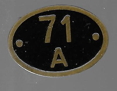 71A Eastleigh Badge