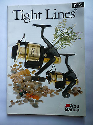 Abu Garcia Tight Lines 1993 Fishing Tackle/Equipment Guide/Catalogue