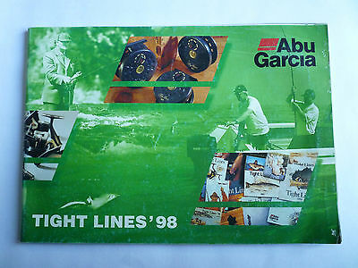 Abu Garcia Tight Lines 1998 Fishing Tackle/Equipment Guide/Catalogue