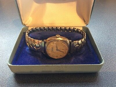 Men's 9 Ct Gold Rotary Super Sports Watch Vintage 1960 S