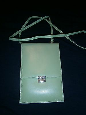 Real Leather Travellers Document Holder with strap