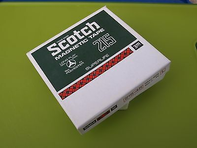 Vintage Scotch Magnetic Tape 215 Superlife - Reel to Reel Boxed (4inch spool)