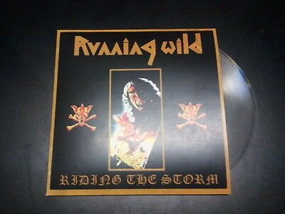 Running wild- Riding the storm  7'' flexi vinyl limited to 5 copies - RARE