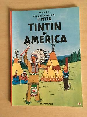 """Vintage Herge The Adventures Of Tintin """" Tintin In America """" Mammoth Lot 10/12"""