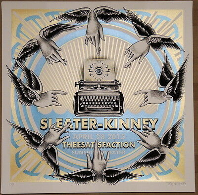 Sleater Kinney - 2015 - Albequerque - No Cities To Love - Delano Garcia -