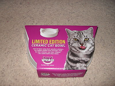 Brand new whiskas ceramic pet bowl