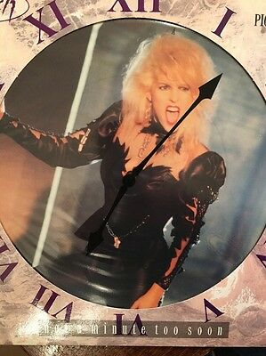 Vixen  Not A Minute Too Soon. Limited Edition  Picture Disc Vinyl. Near Mint