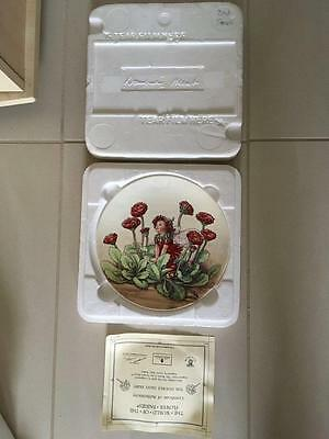 "Danbury Mint "" The Double Daisy Fairy "" Cicely Mary Barker. Wedgwood Lot 7 Of 8"