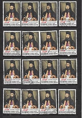 Cyprus Postmarks Collection  16 stamps
