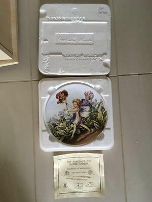 "Danbury Mint "" The Pansy Fairy "" Cicely Mary Barker. Wedgwood Lot 8 Of 8"