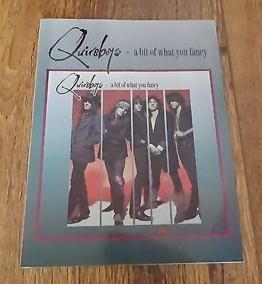The Quireboys A Bit Of What You Fancy Music Book Tab