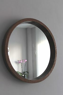 Ancien Miroir Asymetrique Vintage 50'60' Retro  Design Moderniste Scandinave