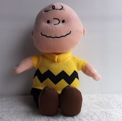 TY Charlie Brown Soft Toy - Peanuts / Snoopy -
