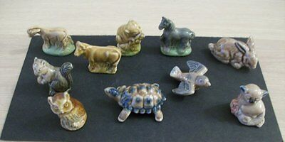 10 Wade Whimsies &types All In Good Condition
