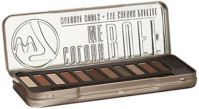 W7 Colour me Buff - Paleta de 12 Sombras de Ojos, Tono Natural