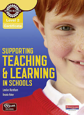 Level 2 Supporting Teaching And Learning In Schools & DVD new 1st class post