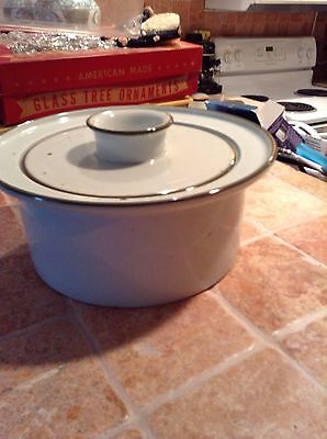 Dansk BROWN MIST Round Covered Casserole Dish MUST SEE !!!