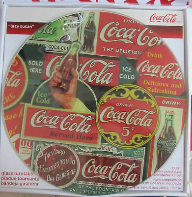 Coca-Cola Collage Lazy Susan - BRAND NEW!