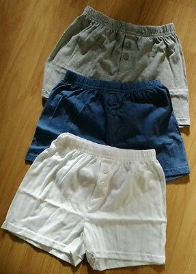 M&S BoyS 5 Pack Cotton Boxers Size 6-7YRS  BNWT