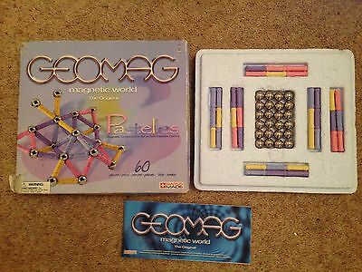 Geomag Magnetic World Pastelles 60 Pieces, Children's, Games, Magnetic