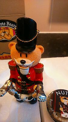 Bad Taste Bears - Nutty - Bear of the Month 2007 with badge