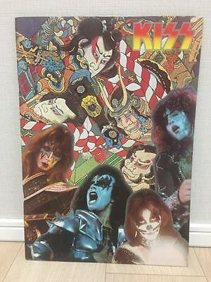 Kiss Japan 1977  Tour Program Original
