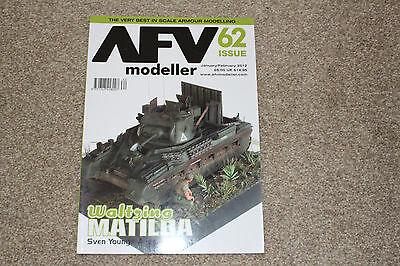 Afv Modellers Book - Issue 62