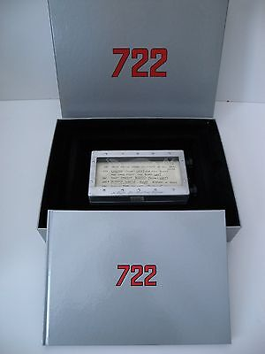 STERLING MOSS 722 MILLE MIGLIA ROLLER MAP No.21/722 LIMITED EDITION