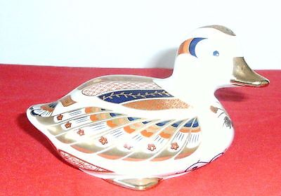 Collectible Japanese porcelain highly decorated Duck