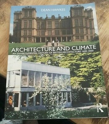 Architecture and Climate by Dean Hawkes Paperback Book (English)