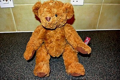 Russ Berrie Bear Vintage Edition Collection Brown Jointed