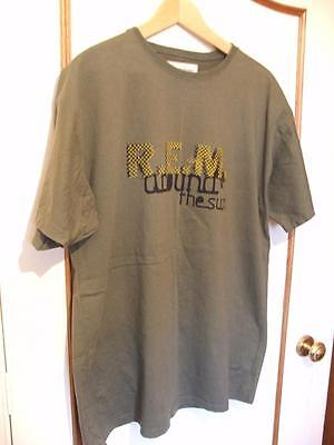 R.E.M. ~ Around The Sun 2005 Tour Tee Shirt ~ X-Large Excellent Condition