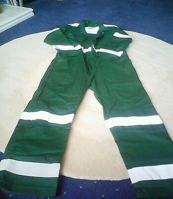 Arco Coverall - Size Small/regular - Bottle Green
