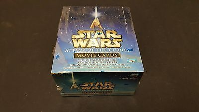 Star Wars Trading Cards boxed