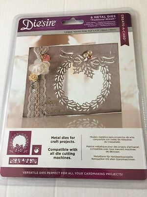 Crafters Companion Die'sire - Create a Card - Traditional Wreath