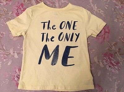 Old Navy The One And Only Me Graphic Short Sleeve Shirt sz 5t