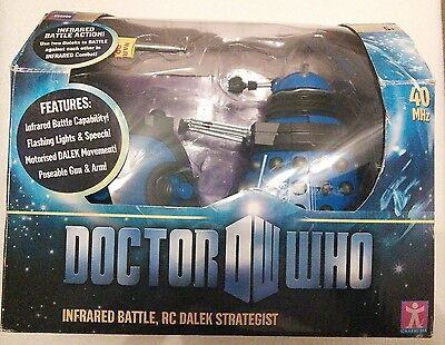 Boxed Dr Who infrared battle remote control Dalek Strategist - great condition