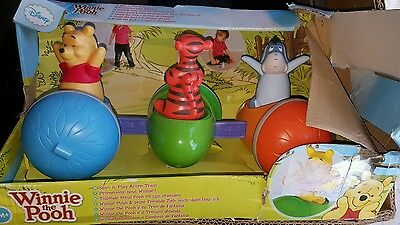 NEW OFFICIAL Disney's Winnie The Pooh Spin n Play Train