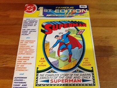 D.c Famous First Edition Superman