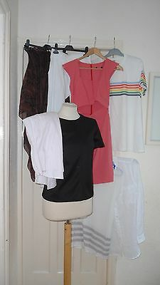 Bundle Size 10/12 Ladies Clothing 8 Items     Mainly Asos     Lot 6
