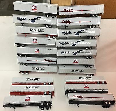 Assorted Containers and Vans 1:87 scale