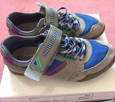 Ladies Shimano Cycle Shoes, Size 6