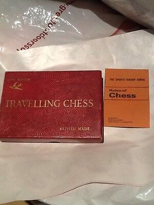Vintage Travelling Chess Set