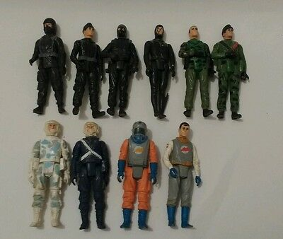 vintage Palitoy Action Force action figure joblot bundle