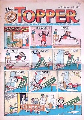 TOPPER - 3rd DECEMBER 1966 (1st - 7th Dec) - SUPERB 50th BIRTHDAY GIFT !!..beano