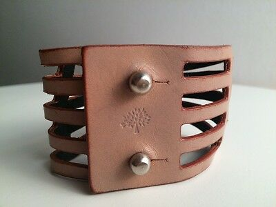 Mulberry Leather Cuff
